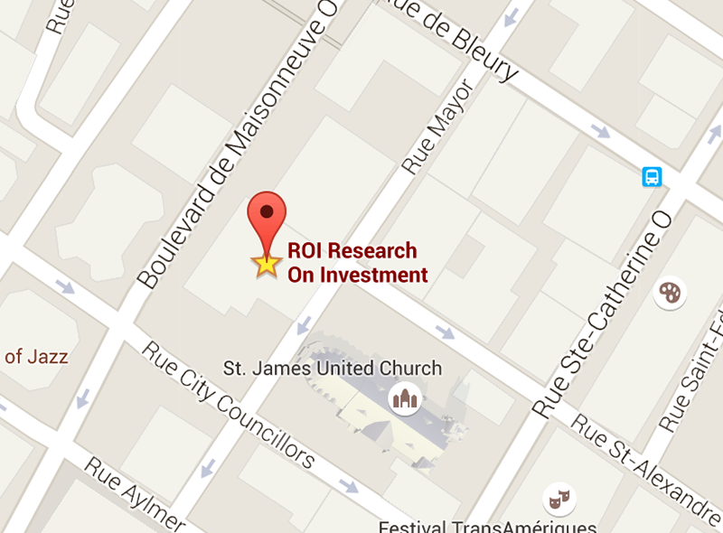 Research on Investment, Montreal, Canada